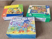 Bundle of 3 child's jigsaws