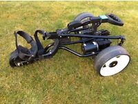 Turbo Caddy Golf Trolley, Including charger and new 36 hole battery