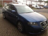 Reduced!! Audi A3 special edition 2.0tfsi full spec. 2006 s-line Swap