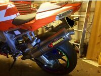 Aprilia tuono 1000r v twin 2006 immaculate condition fsh