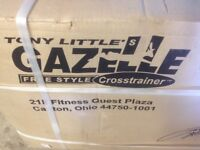 Brand new gazelle freestyle cross trainer - still in packaging