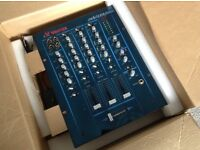 Vestax PCV 175 Professional mixing controller 3 channel, with blue mirrored face plate. £100