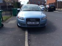 AUDI A4 1.9 TDI S-LINE 5DR hatchback Diesel Manual 2005 Full hISTROY 12 Mouth mot miles 10000