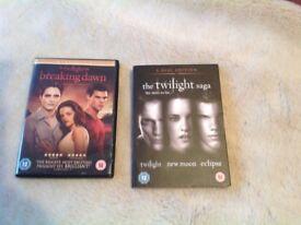 Twilight DVD Set ( brand new)