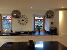 2 X New Glass Easyfit Ceiling Shaded from Debenhams Collection