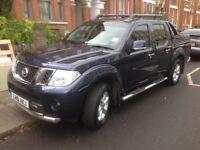 Nissan Navara 2.5 dCi Tekna Double Cab Pickup 4dr 2011 (61 Reg) - Auto SAT/NAV £10950 NO VAT