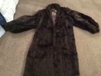 Fur coat - real fur coat