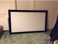 Projector screen for sale.
