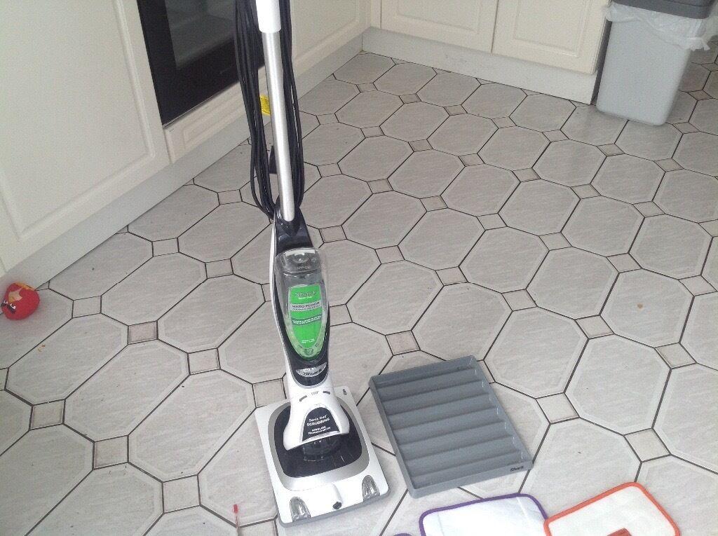 Shark Sonic Duo Carpet Tiles Wood Floor Cleaner And