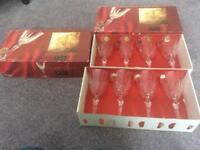 Chantilly Cristal de France 175ml wine glasses