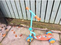 "Great Xmas gift - ""In the night garden"" scooter. Ideal for boy or girl."
