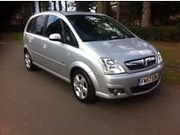 VAUXHALL MERIVA 16V 1.6 DESIGN EDITION, SEMI AUTOMATIC, 5 DOOR MPV, LONG M.O.T, ONE OWNER, BARGAIN