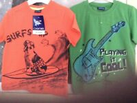 Pack of 2 Age 2-3 years T Shirts