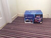 PS4 Vr headset with 2 move controllers and gran tourism game only had few months boxed