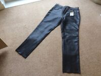 Ladies Belstaf leather jeans size 20 brand new with tags