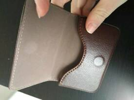NEW leather business card holder