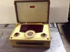 Vintage Vidor radio 1955