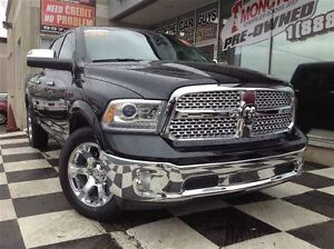 2016 Ram 1500 Laramie, Heated seats, Backup camera