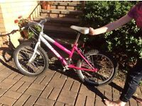 Girls bike suit 5-7 year old still very roadworthy