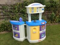 Little tikes kitchen and laundry station