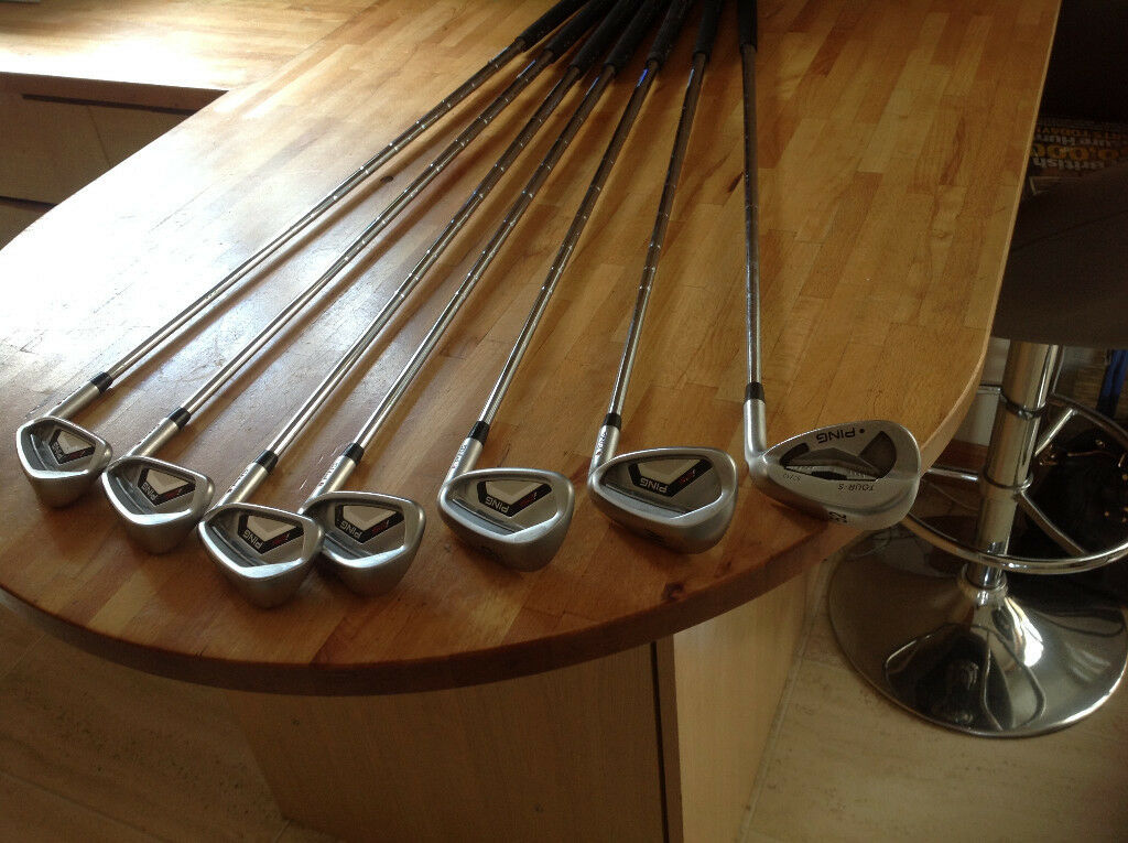 Ping i25 irons, 5-PW plus 52 degree Tour-S wedge, red dot, regular CFS shafts - PRICE REDUCED