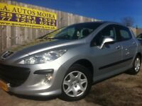 2010 PEUGEOT 308 1.4 S FIVE DOOR MODEL ( GREAT MPG / LOW INS GROUP 4 !!!!!!