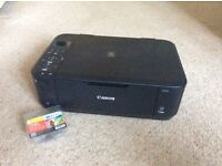 Canon Pixma MG4250 colour printer excellent working condition with new black ink cartridge
