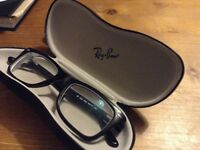 Ray Ban black Wayfarer original glasses