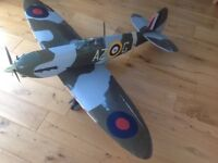 Radio controlled model aircraft...Spitfire