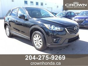 2016 MAZDA CX-55 GS LUXURY - ONE OWNER, LOCAL TRADE, NO ACCIDEN