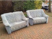 Sofas vgc, could deliver