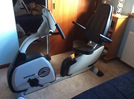 Exercise bike. KettlerSM 328V75. Excellent condition with handbook, cable. Computer display,recorder
