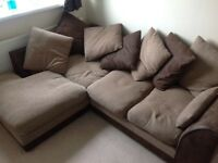 Corner sofa for sale.