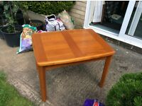 Solid wood coffee or lamp table for sale