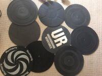 Turntable mats