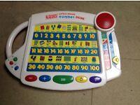 Vtech alphabet and number desk
