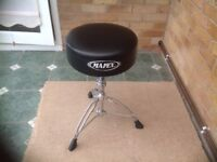 Mapex Drum stool / Bass Pedal / Hi Hat / Pearl Snare Stand / Vic Firth Silencer Pads VGC Bargain