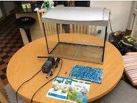 60 L Aquarium in excellent condition with equipment - SuperFish make