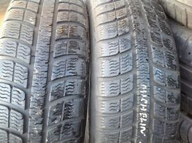 Part worn tyres 175/65/15 sets & pairs-185/60-65/15-- 5/6mm-- Touch stone tyres