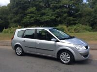 RENAULT GRAND SCENIC 1.6 SEVEN 7 SEATER 2007. SERVICE HISTORY. MOT MARCH 2019. EXCELLENT CONDITION
