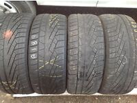 """Winter tyres 15/16/17/18/19"""" sets & pairs available- unit 90 fleet road ig117bg"""