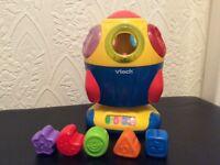 Vetch sort and soar rocket shape sorter toy