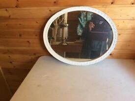 Vintage painted mirror