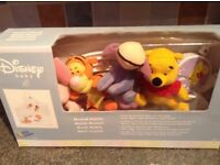 Disney musical cot mobile, Winnie the Pooh, Piglet, Tigger & Eeyore