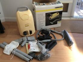 Karcher steam cleaner, only been used once all tools and accessories included.