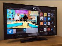 "JVC 40"" Smart WiFi LED Full HD TV"