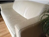 Free 2 and 3 seaters leather sofas