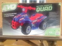 EVO BATTERY OPERATED QUAD (OPEN To OFFERS)