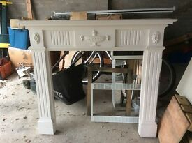 White fire surround / mantlepiece - excellent condition bargain price!