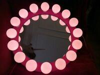 Lovely Habitat VIP range for kids Miss Piggy Hollywood light up mirror.